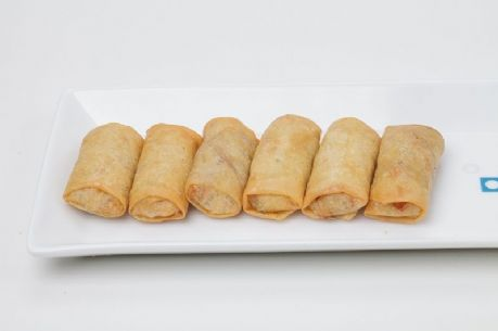 Vegetable cocktail spring rolls